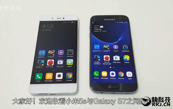 Xiaomi Mi 5S уступает в бенчмарках смартфону Samsung Galaxy S7 с Exynos 8890 – фото 1