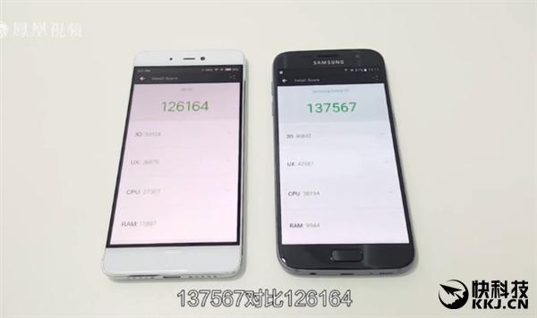 Xiaomi Mi 5S уступает в бенчмарках смартфону Samsung Galaxy S7 с Exynos 8890 – фото 4