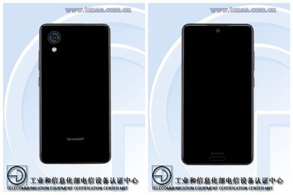 Безрамочный смартфон Sharp сертифицирован в Китае – фото 2