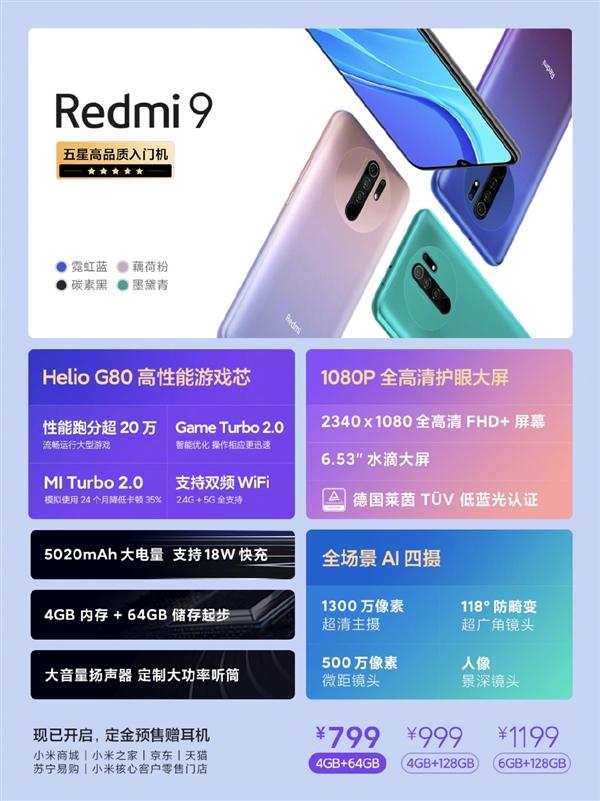 Redmi 9 теперь в Китае. Ценники куда аппетитнее европейских – фото 2