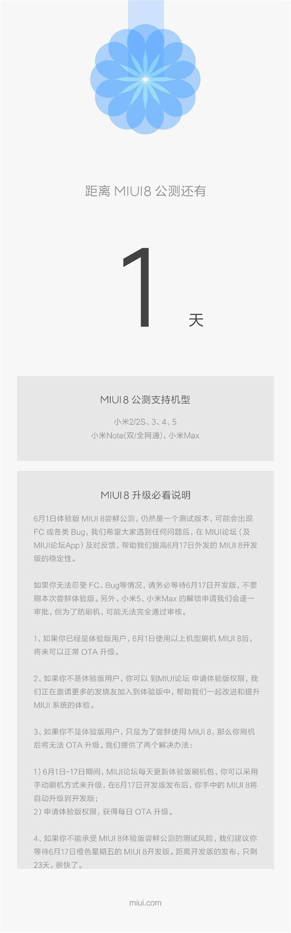 MIUI 8 в качестве официального бета-тестирования станет доступна для Xiaomi Mi2, Mi2S, Mi3, Mi4, Mi Note, Mi5 и Mi Max с 1 июня – фото 2