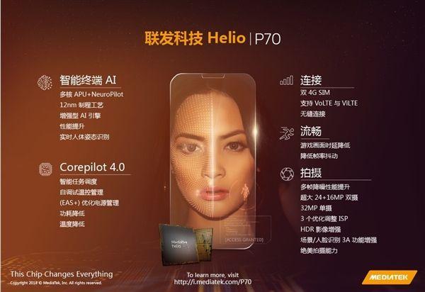 Анонс чипа Helio P70 с искусственным интеллектом – фото 1