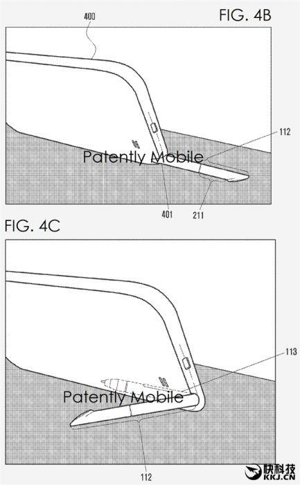 Samsung запатентовал складывающуюся конструкцию стилуса S Pen – фото 4