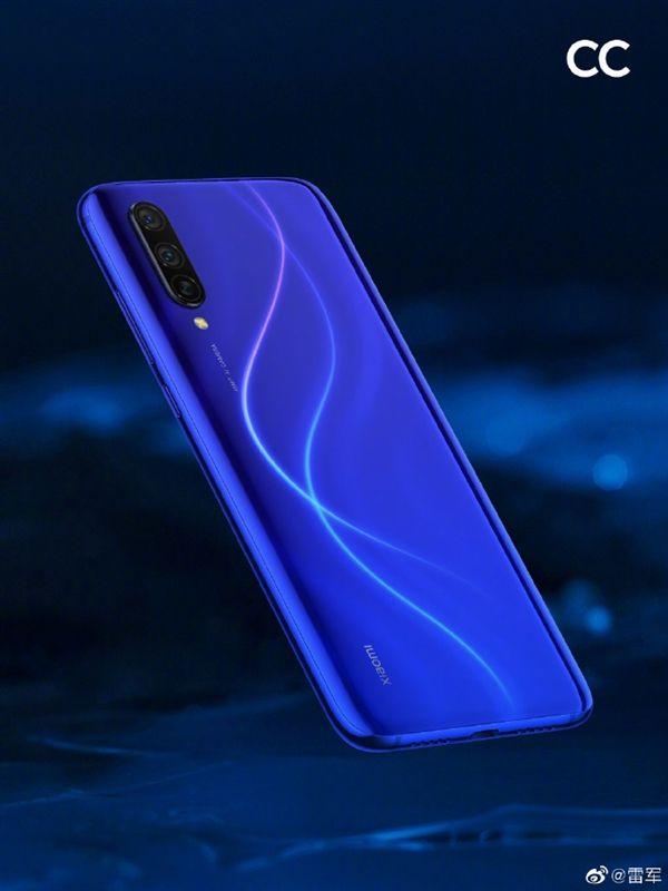 Xiaomi CC9 сделает ставку и на синий цвет – фото 1