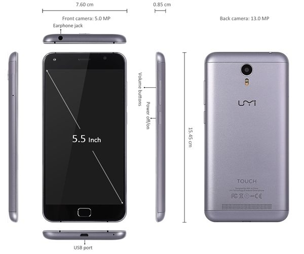 UMi Touch станет первым Windows-смартфоном на платформе МТ6753 от MediaTek – фото 4