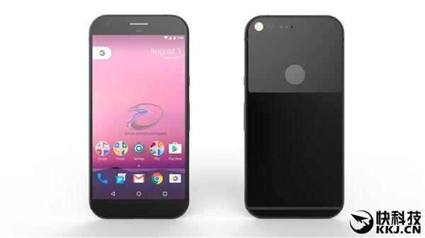 Google Pixel (Sailfish): новые рендеры раскрывают подробности дизайна компактного смартфона – фото 1