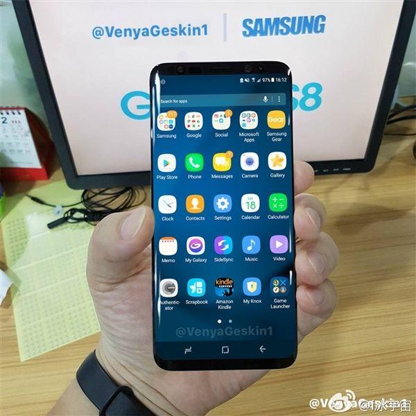 Очередные фото Samsung Galaxy S8 утекли в сеть – фото 2