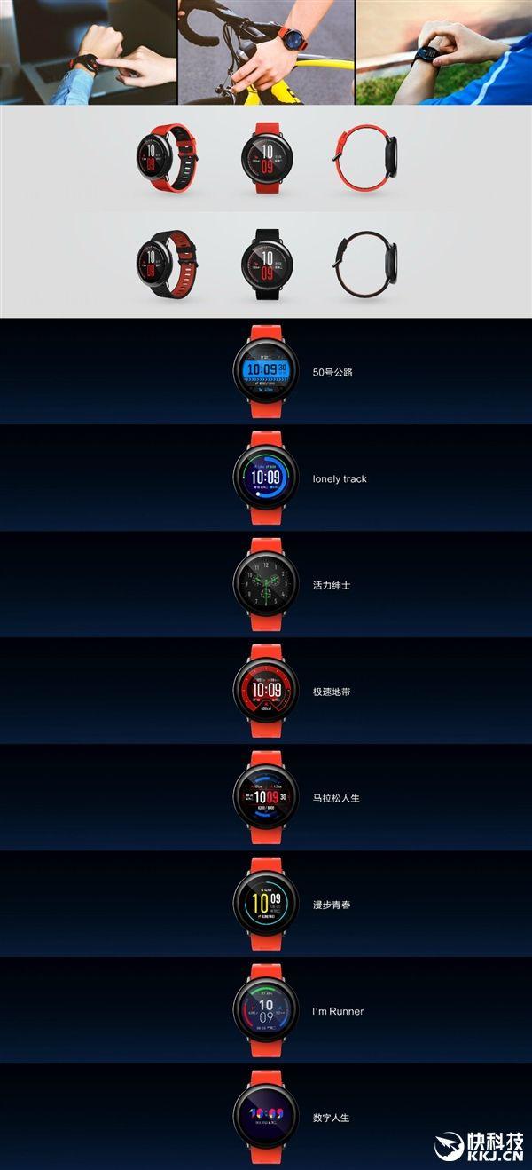 AMAZFIT - спортивные смарт-часы совместной разработки Huami и Xiaomi – фото 3