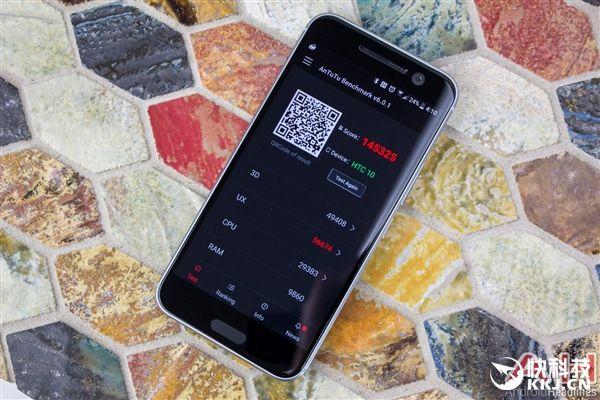 Серийный HTC 10 в тесте бенчмарка AnTuTu набирает около 145 тысяч баллов – фото 1