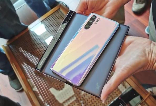 Складной Huawei Mate X могли доработать и усовершенствовать