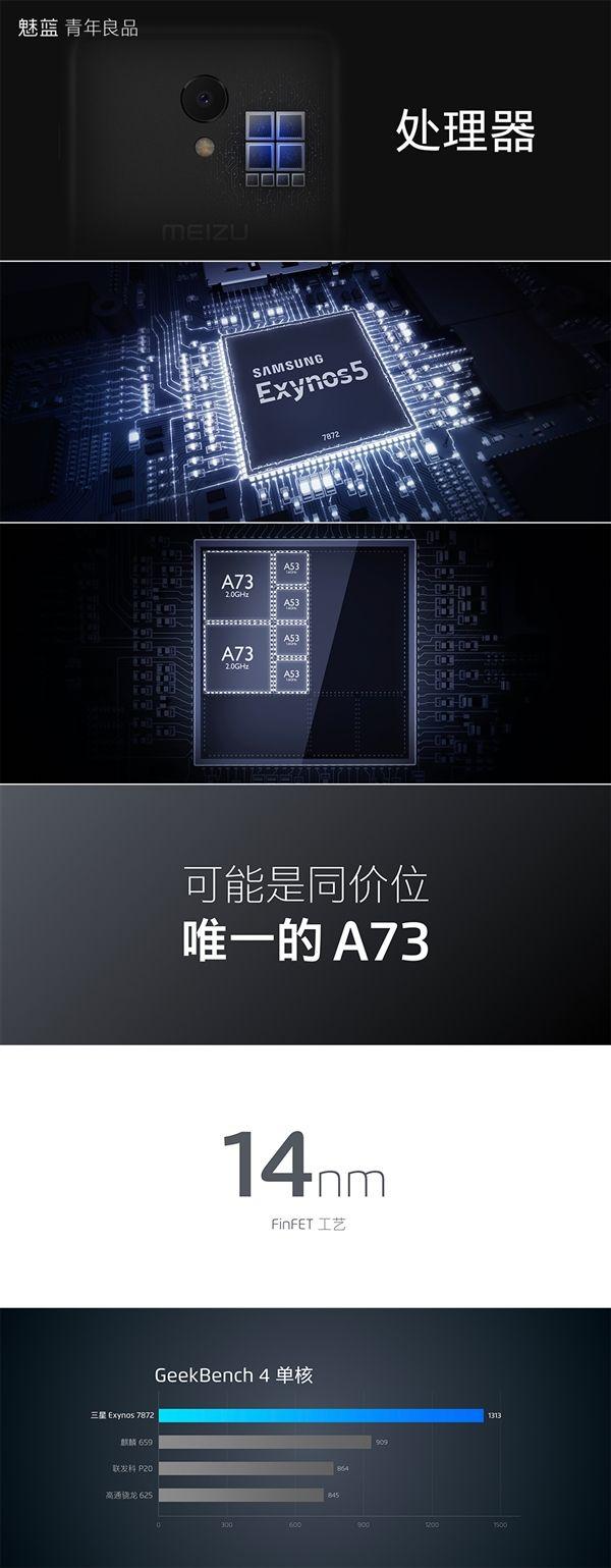 Анонс Meizu M6s: тонкие рамки, чип Exynos и хорошая цена – фото 15