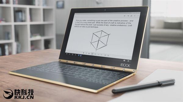 Lenovo Yoga Book получил сенсорную клавиатуру, на которой можно рисовать – фото 1