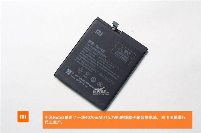 Xiaomi Mi Note 2 разобрали для идентификации компонентов и оценки качества сборки – фото 10
