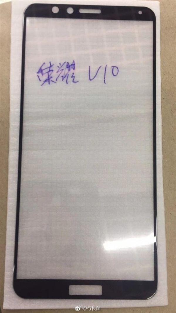 Фотография передней панели Huawei Honor V10 – фото 2