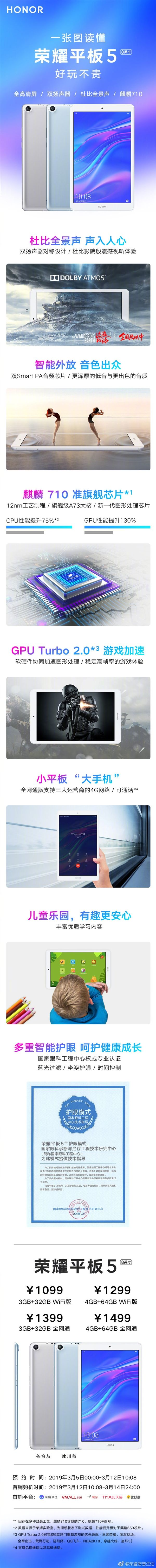 Представлен планшет Honor Tab 5 с чипом Kirin 710 – фото 2