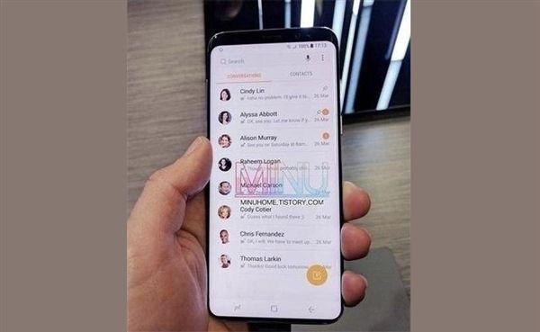 Samsung Galaxy S9 позирует на «живом» снимке – фото 1