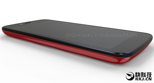 Красный Moto C показался на рендерах – фото 2
