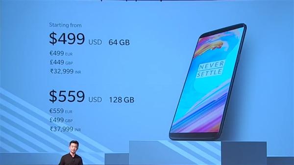 OnePlus 5T представлен: безрамочный флагман с функцией распознавания лица – фото 2