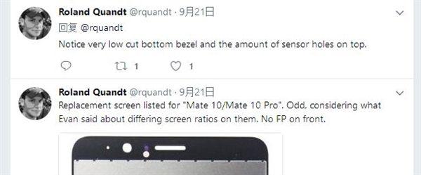 Дисплейный модуль Huawei Mate 10 Pro попал на фото – фото 3