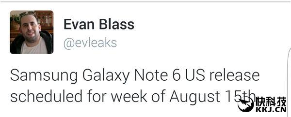 Samsung Galaxy Note 6 будет представлен 15 августа – фото 2