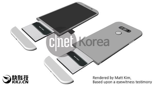 LG G5: особенности корпуса и дата презентации – фото 1