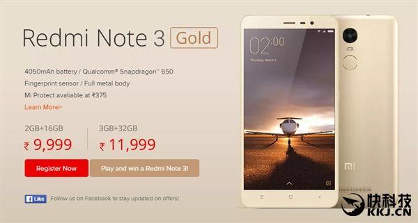 Xiaomi Redmi Note 3 дебютировал в Индии и получил Snapdragon 650 вместо Helio X10 – фото 1