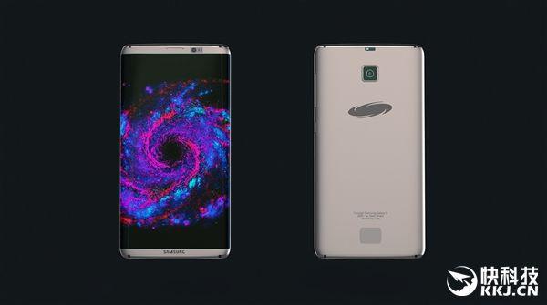 Samsung Galaxy S8: первый концепт-арт далекого флагмана – фото 1