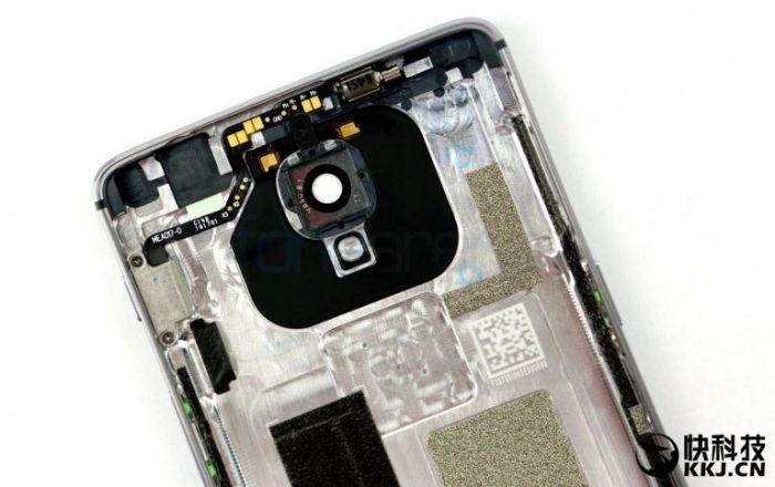OnePlus 3 разобрали на части. Присутствие цельнометаллической тыльной крышки подтверждено – фото 3