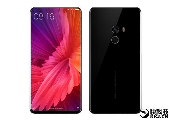 Xiaomi Mi MIX 2 на рендерах: стильный безрамочный смартфон для максималистов – фото 1