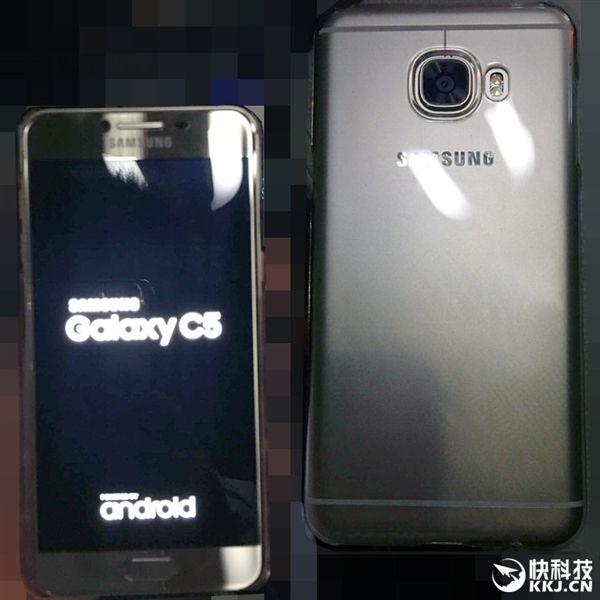 Samsung Galaxy C5 по дизайну также похож на iPhone 6/6S – фото 3