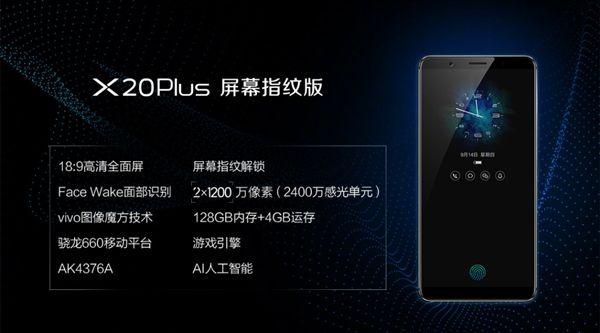 Vivo X20 Plus UD — первый смартфон со сканером отпечатков встроенным в дисплей представлен – фото 5