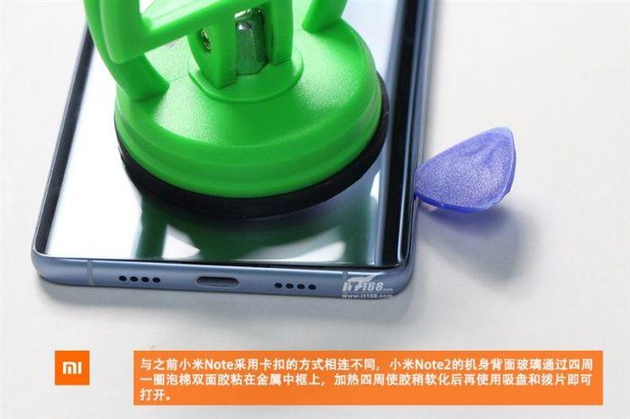 Xiaomi Mi Note 2 разобрали для идентификации компонентов и оценки качества сборки – фото 5