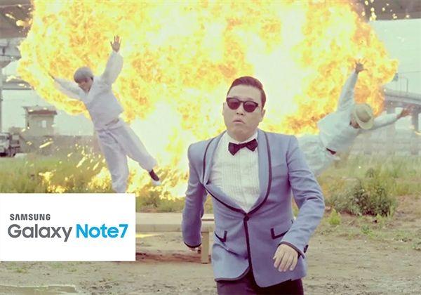 Небезопасные Samsung Galaxy Note 7 – популярная тема комиксов последних дней – фото 1