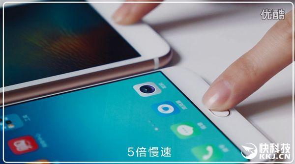 Oppo R9 против iPhone 6S Plus: сравнение скорости разблокировки с помощью сканера отпечатков пальцев – фото 3