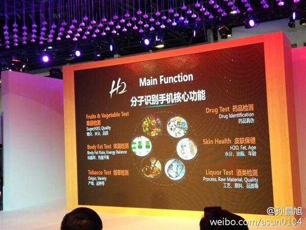 Changhong H2 – первый смартфон с молекулярным датчиком – фото 3