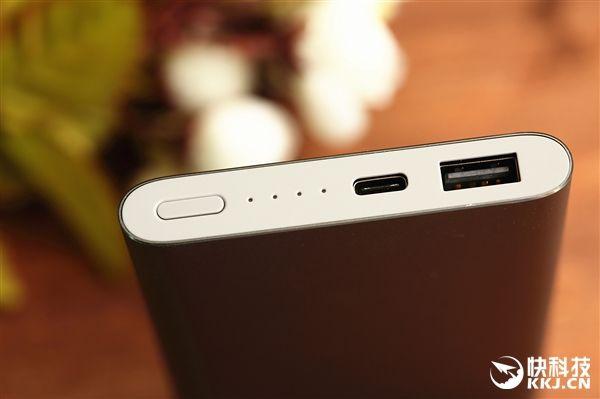 Подробности внешнего вида и характеристик улучшенной версии Xiaomi Mi Power Bank на 10 000 мАч с USB Type-C – фото 5