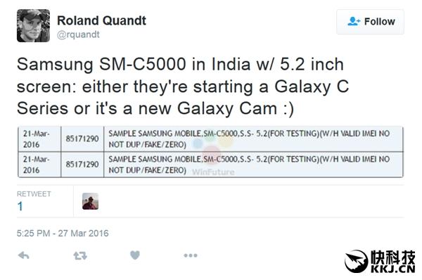 Samsung Galaxy C5 получит 5,2-дюймовый дисплей, 4Гб оперативки и процессор Snapdragon 617 – фото 2