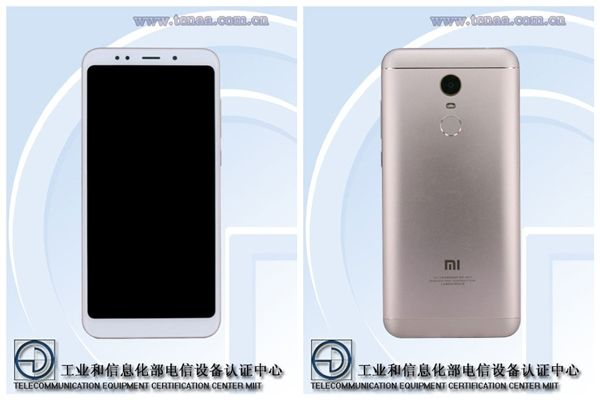 Xiaomi Redmi Note 5 или Redmi Note 5 Plus сертифицирован в TENAA – фото 3