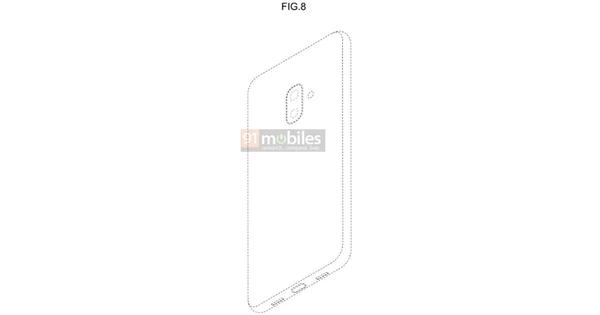 Samsung запатентовала смартфон с «челкой»