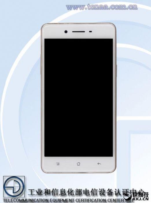 OPPO A35 сертифицирован с TENAA: изображение и характеристики смартфона – фото 1