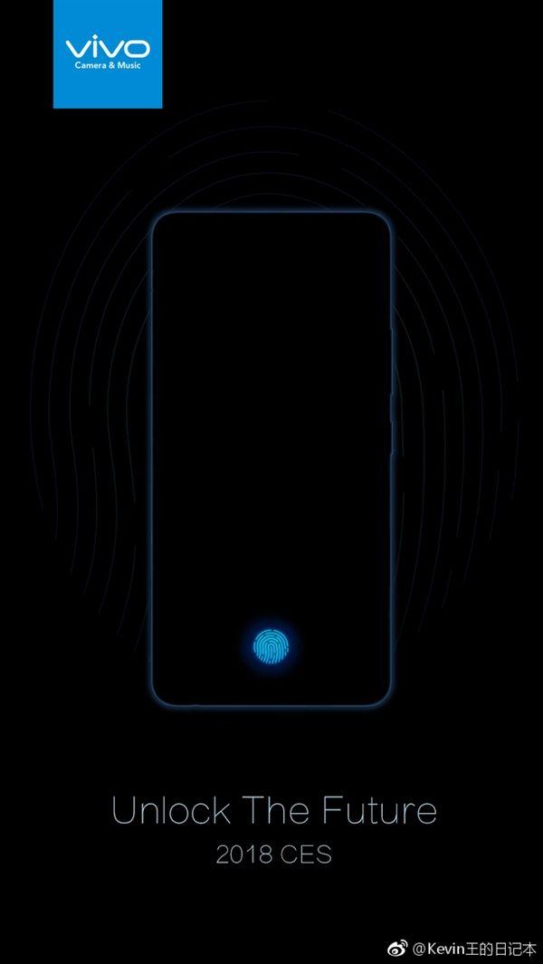 Названа дата анонса на CES 2018 первого смартфона Vivo с дисплейным сканером отпечатков – фото 3