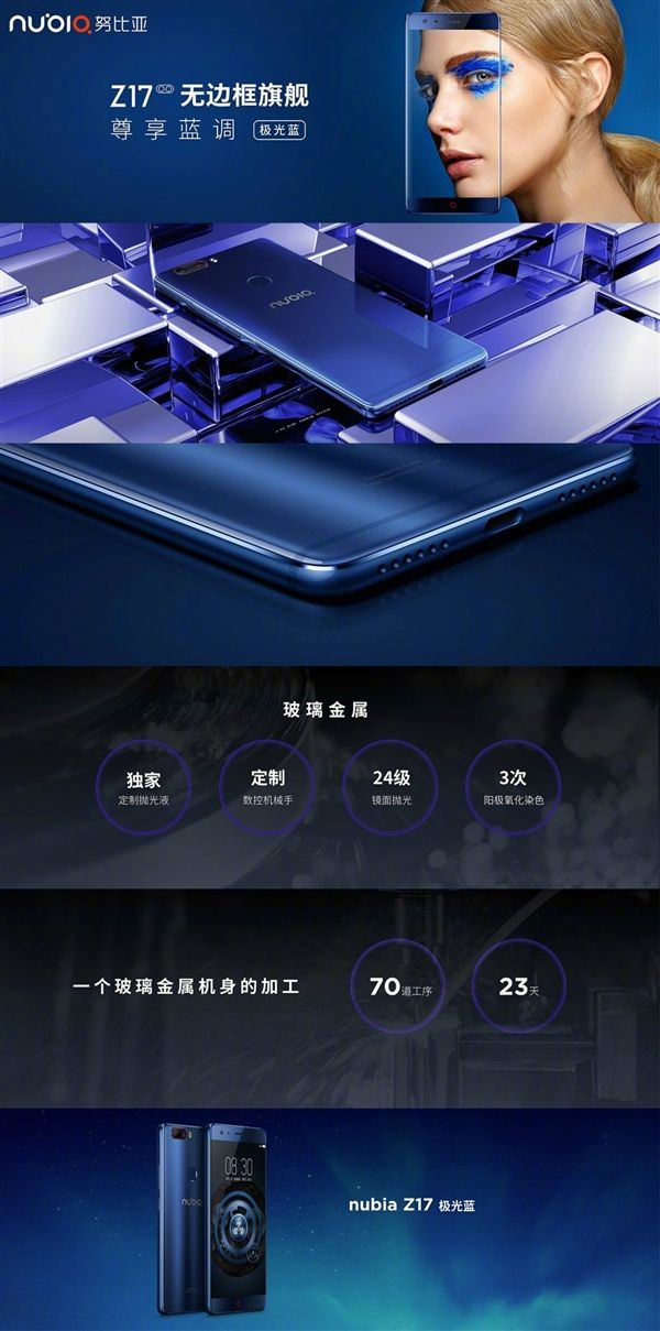 Синий Nubia Z17 и 8 Гб оперативной памяти в стандартной версии – фото 6