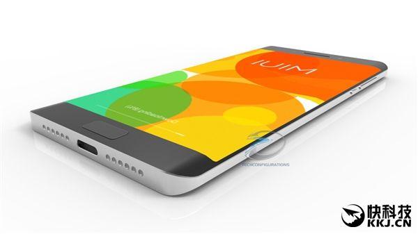 Xiaomi Mi Note 2 на новых рендерах: спереди Samsung Galaxy S7 Edge, а сзади Xiaomi Mi5 с двумя камерами – фото 2