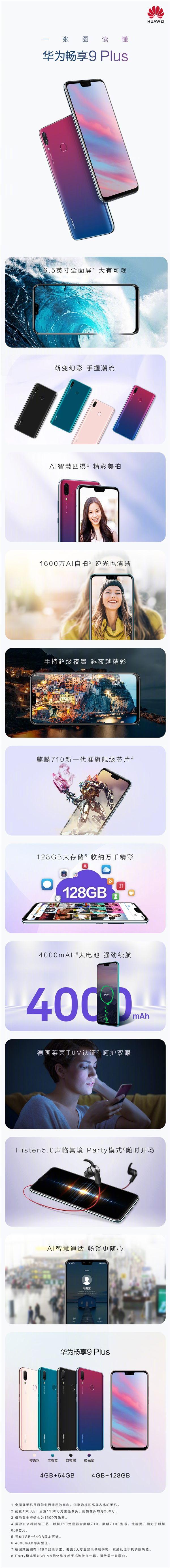 Представлены Huawei Enjoy 9 Plus и Enjoy Max – фото 4