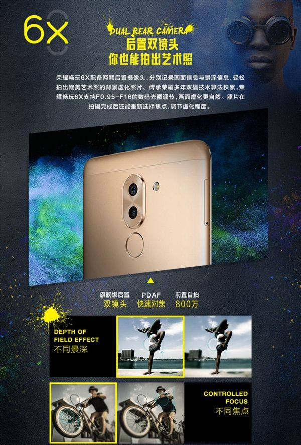 Honor Play 6X процессором Kirin 655 и двойной камерой на 12+2 Мп оценили в $148 – фото 1