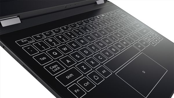 Lenovo Yoga A12 - ультратонкий ноутбук-трансформер с сенсорной клавиатурой – фото 5