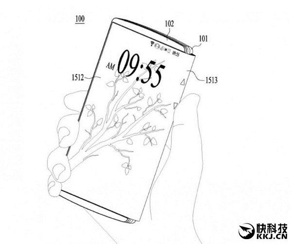 LG оформила патентные заявки на складывающийся смартфон – фото 1