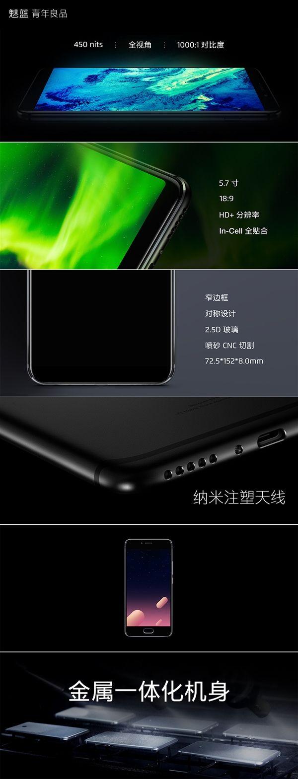 Анонс Meizu M6s: тонкие рамки, чип Exynos и хорошая цена – фото 16