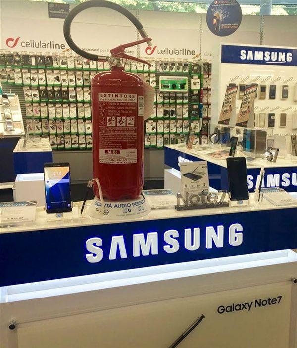 Небезопасные Samsung Galaxy Note 7 – популярная тема комиксов последних дней – фото 5
