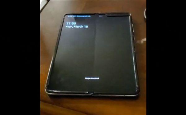 Samsung Galaxy Fold на видео: без складки на экране не обошлось – фото 1